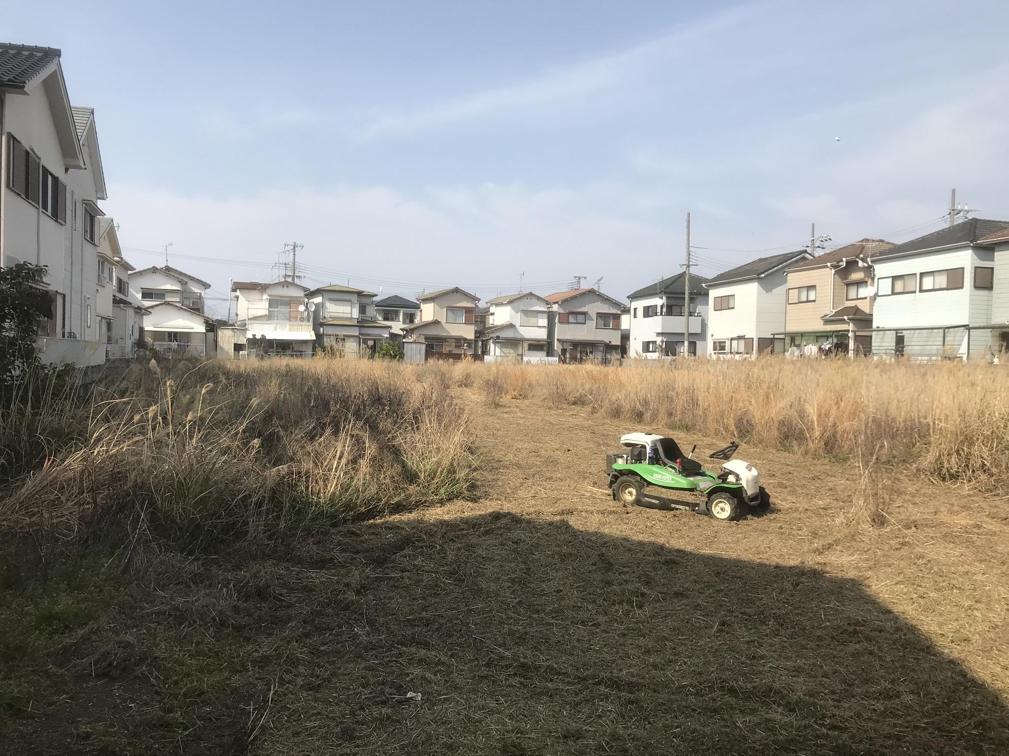 草刈り施工例のご紹介⑧